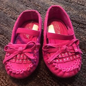 Other - Hot pink toddler shoes.